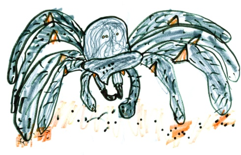 Kids Art Spiders_Grace