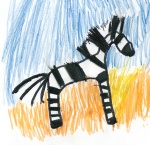 Kids Art Zebras_Holly