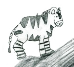 Kids Art Zebras_Hudson