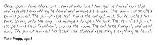 Kids Writing Parrots_Yakir