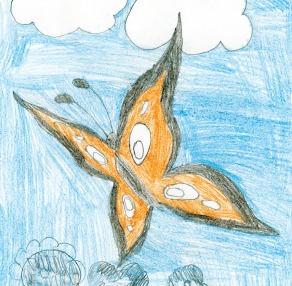 Kids Art BFlies_Elijah