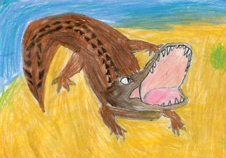 Kids Art Alligators_Claire