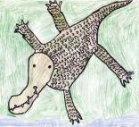 Kids Art Alligators_Lauren