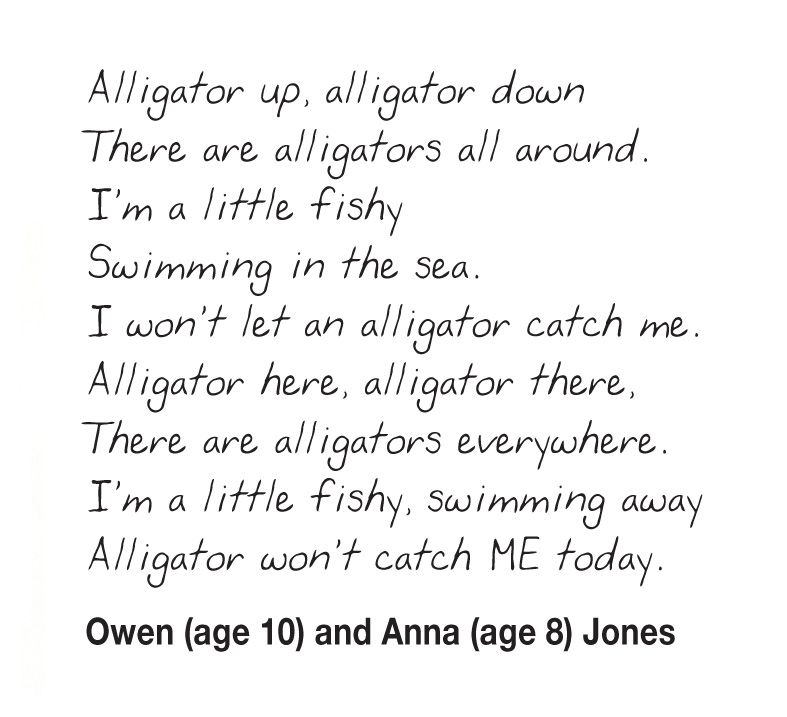 Kids Writing Alligators_Owen