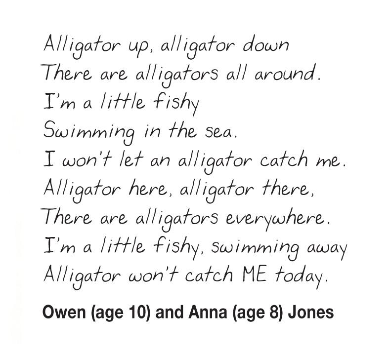 Kids Writing Alligators_Owen