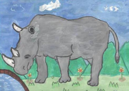 kids-art-rhinos_atishay